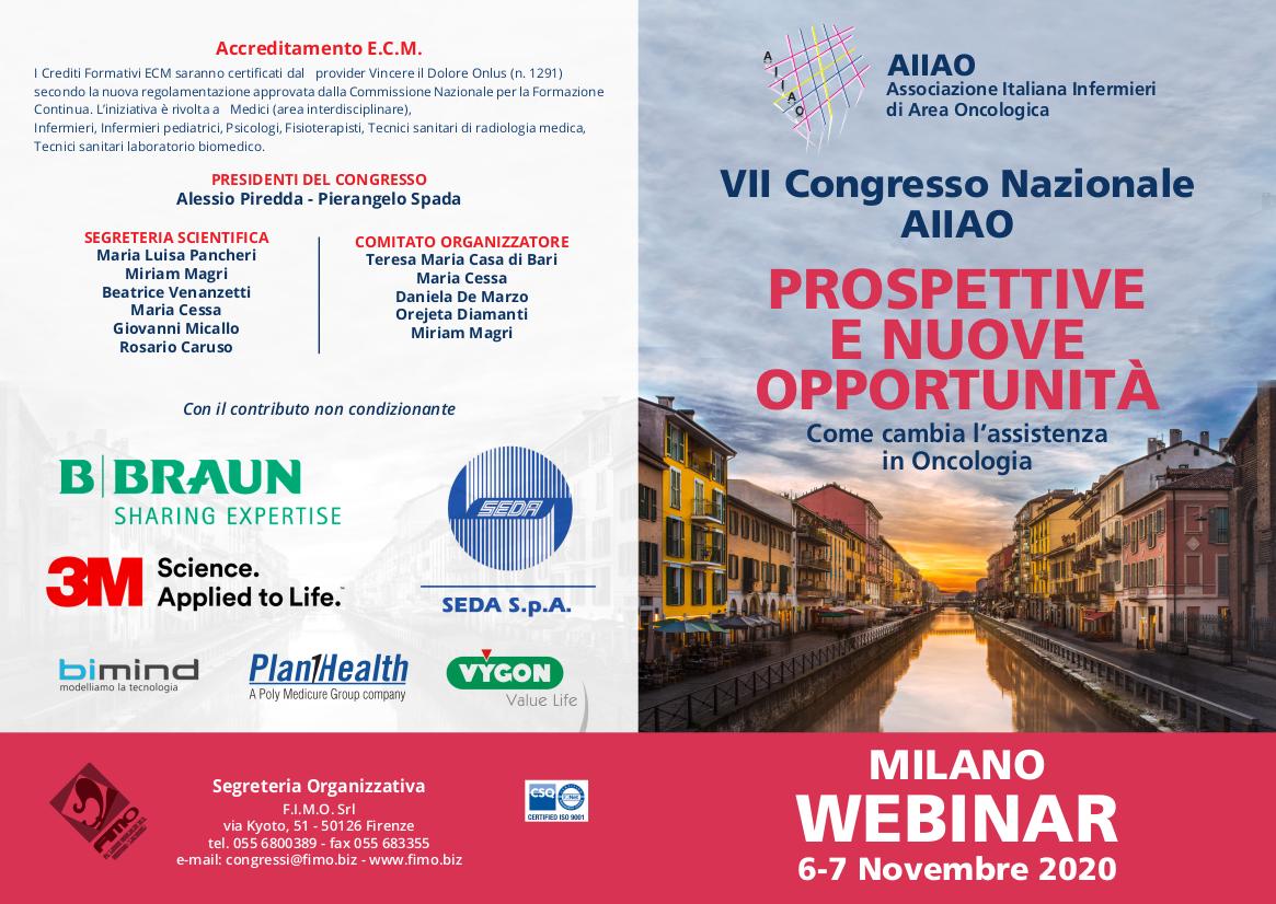 VII Congresso Nazionale AIIAO – Prospettive e nuove opportunità